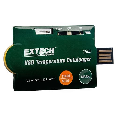 Extech THD5: USB Temperature Datalogger