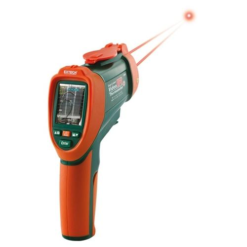 Extech VIR50: Dual Laser IR Video Thermometer