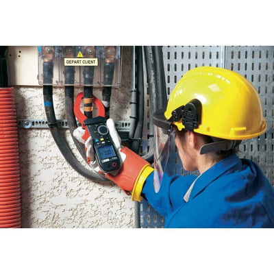 Chauvin Arnoux F605 : True RMS AC/DC digital clamp meter