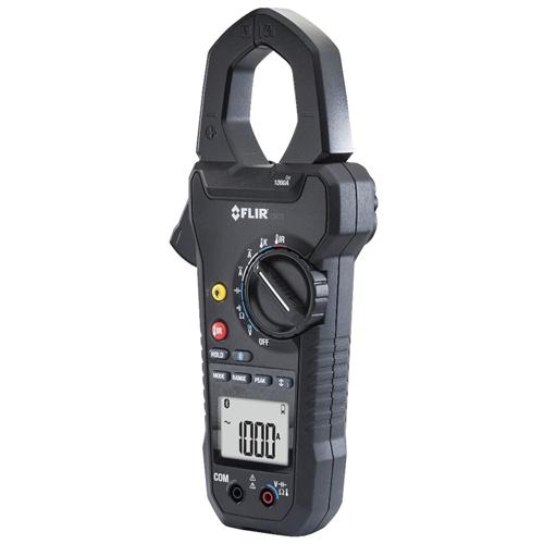 FLIR CM78: Industrial 1000 Amp Clamp with IR Thermometer