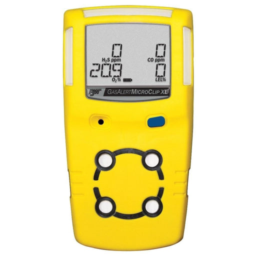 BW Technologies GasAlertMicroClip XL : Multi Gas Detector LEL,O2,H2S,CO - Anaum - Test and Measurement