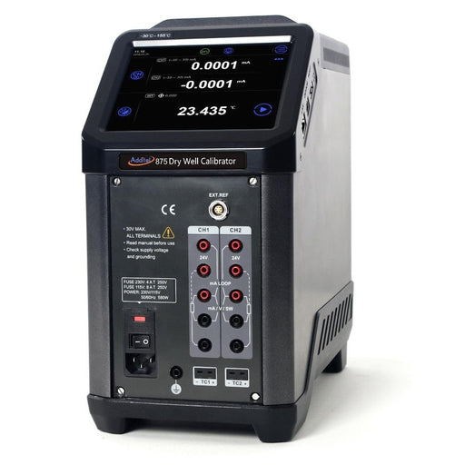 Additel ADT875PC: Dry Well Temperature Calibrator, 33°C to 660°C - Anaum - Test and Measurement