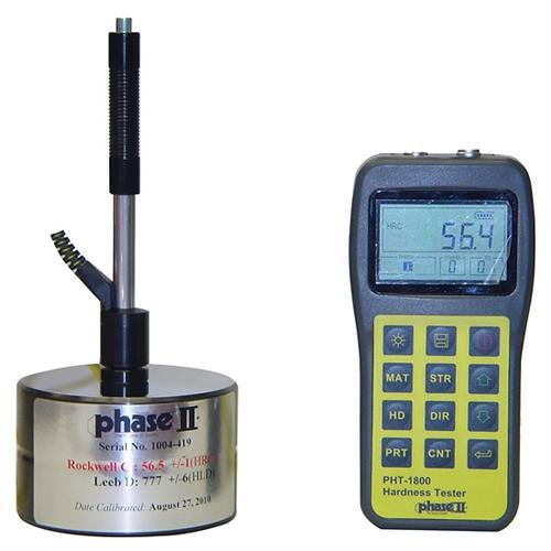 Phase II PHT-1800 : Portable Hardness Tester