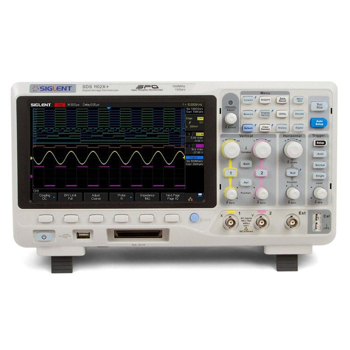 Siglent SDS1202X+: 200MHz Digital Oscilloscope
