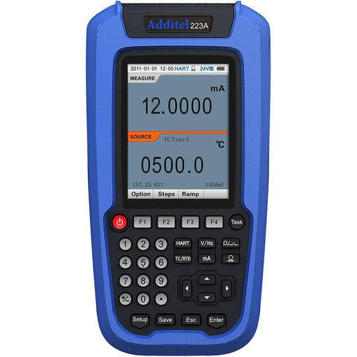 Additel ADT223A: Documenting Process Calibrator - Anaum - Test and Measurement