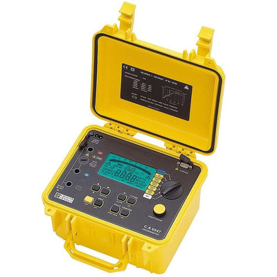 Chauvin Arnoux CA6547 : Digital Insulation Tester, 5000V