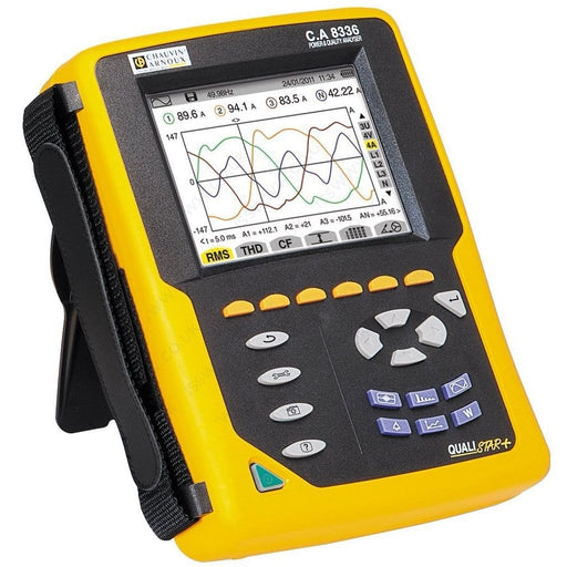 Chauvin Arnoux CA8336 : Power Quality Analyser - Anaum - Test and Measurement