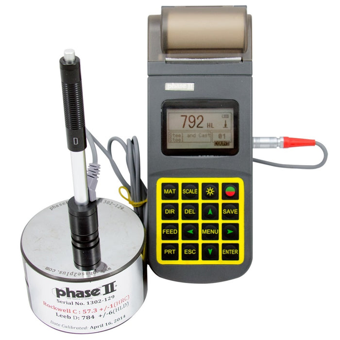 Phase II PHT-3500 : Portable Hardness Tester