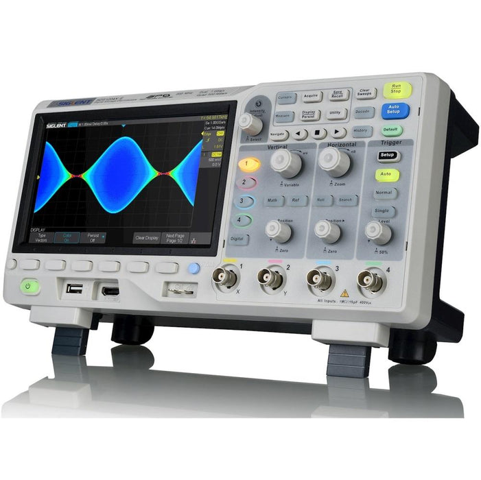 Siglent SDS1104X-E: 100MHz Four Channel Digital Oscilloscope