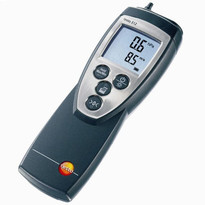 Testo 512 : Differential Pressure Meter - 0 to 2000hPa