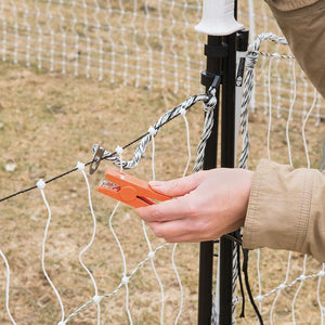 Electric Fence Hot Gate