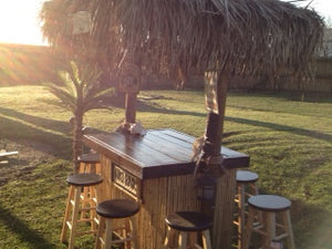 The Tiki Time Pub Table