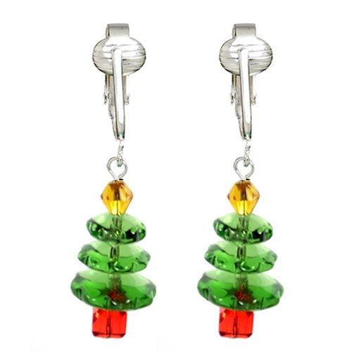 Holiday Clip-on Earrings from Clip Earring Shop.com