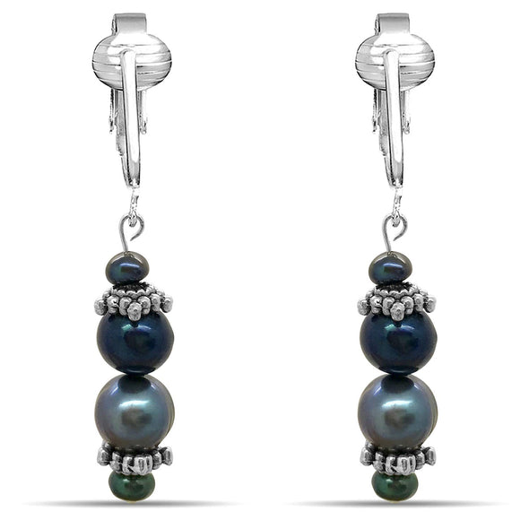 Aloha Earrings Cultured Freshwater Pearl Dangle Earrings (Various)