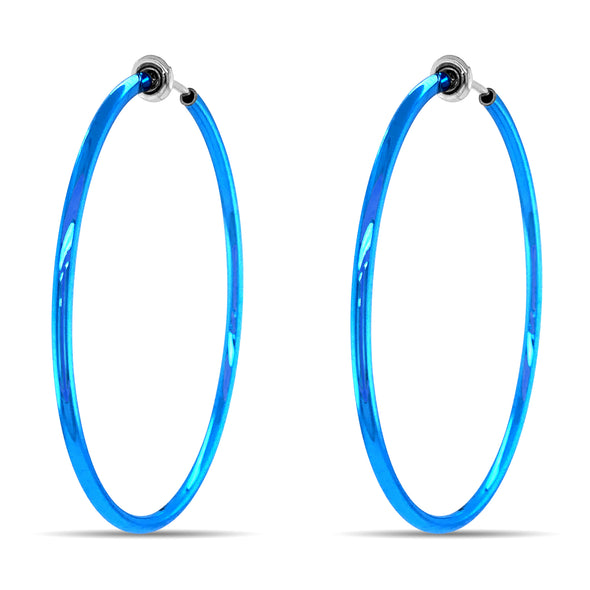 Classic Clip-On Hoop Earrings; Comfortable, Long-Lasting