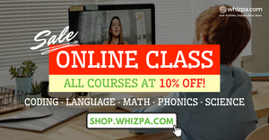 Kids' Online Courses at 10% off!