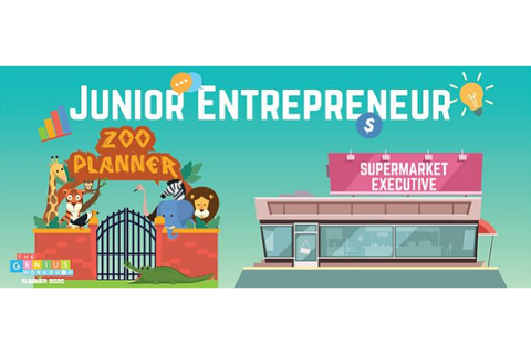 Junior Entrepreneurs 4 or 5 Days (4.5-7 years, Happy Valley / Taikoo / Prince Edward)