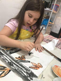 Chinese Calligraphy and Painting (Kids) 2 Classes ( 5+ years old, Wong Chuk Hung) - Whizpa