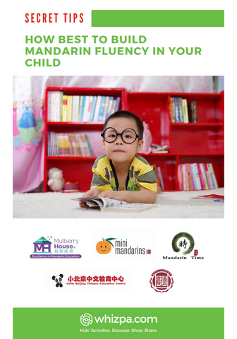 Whizpa eBook#2: How Best To Build Mandarin Fluency in Your Child