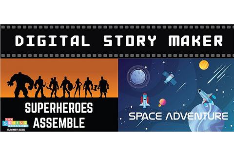 Digital Story Maker 4 or 5 Days (4.5-7 years, Happy Valley / Taikoo / Prince Edward)