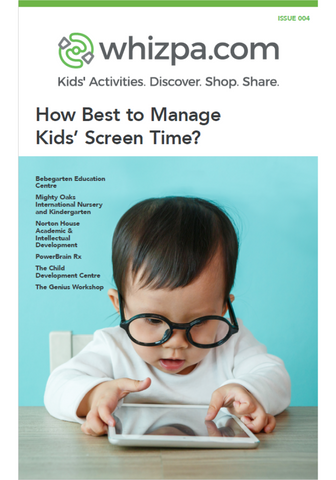 Whizpa eBook#4: How Best to Manage Kids' Screen Time