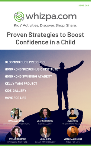 Whizpa eBook#6: Proven Strategies to Boost Confidence in a Child