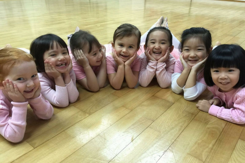 Ballet 4 Classes (3-4 years, Central) - Whizpa