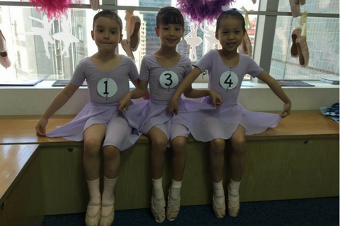 Ballet 2 Classes (3-4 years, Central) - Whizpa