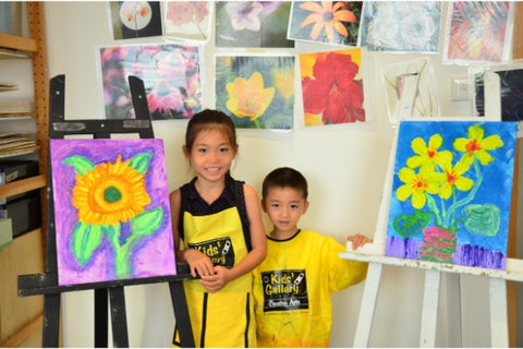 Art Portfolio 2 Classes (5 - 7 years, Kowloon / Hong Kong) - Whizpa