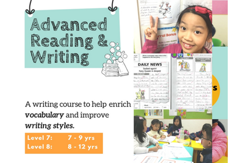 Advanced Reading & Writing (7-12 years, Hong Kong) - Whizpa
