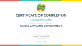 Mobile App Game Development 5-Day Camp (12-14 years, Online)