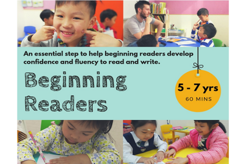 Beginning Readers (5-7 years, Hong Kong) - Whizpa