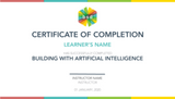 Building AI 5-Day Camp (12-14 years, Online)