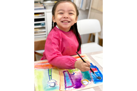 Children's Art Inspiration Program Art Beginner 4 or 8 Classes (3.5-5 years, North Point) - Whizpa