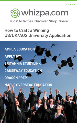 Whizpa eBook#5: How to Craft a Winning US/UK/AUS University Application - Whizpa