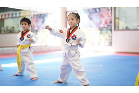Taekwondo 2 Classes (3-15 years, Wong Chuk Hang)