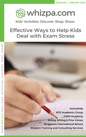 Whizpa eBook#7: Effective Ways to Help Kids Deal with Exam Stress - Whizpa