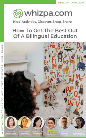 Whizpa eBook#10: How To Get The Best Out Of A Bilingual Education? - Whizpa