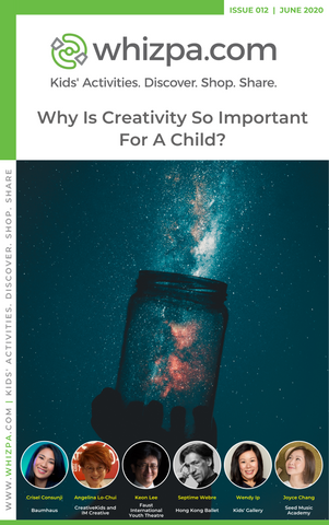 Whizpa eBook#12: Why Is Creativity So Important For A Child?