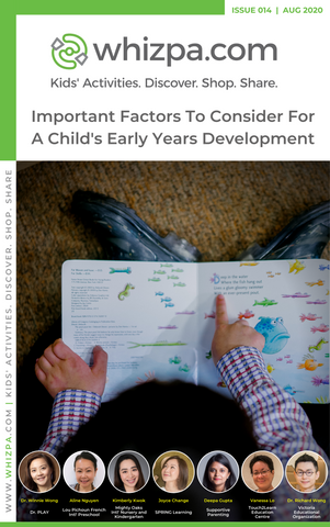 Whizpa eBook#14: Important Factors To Consider For A Child's Early Years Development
