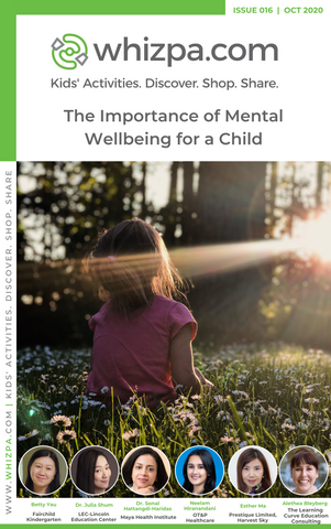 Whizpa eBook#16: The Importance of Mental Wellbeing for a Child