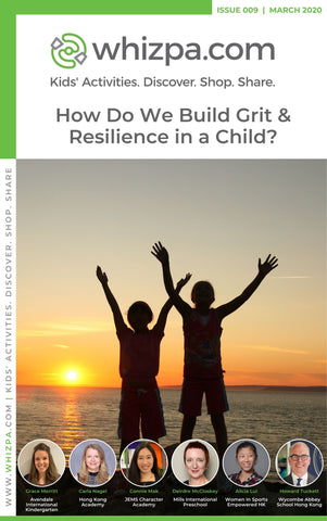Whizpa eBook#9: How Do We Build Grit & Resilience In A Child? - Whizpa