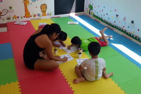 英語夏令營 1星期(3-5歲, 上環) ; Fun English Summer Club 1 week (3-5 years, Sheung Wan)
