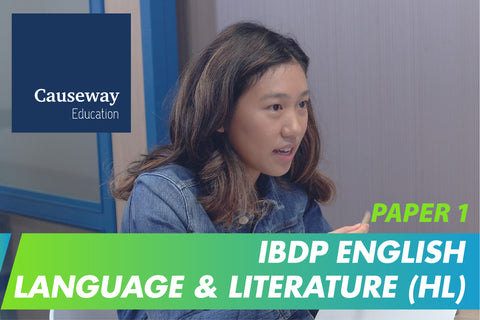 IBDP English Language & Literature (HL) Paper 1 Final Exam Mock Test and Review Session (16-18 years, Online) - Whizpa
