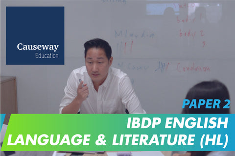 IBDP English Language & Literature (HL) Paper 2 Final Exam Mock Test and Review Session (16-18 years, Online) - Whizpa