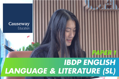 IBDP English Language & Literature (SL) Paper 1 Final Exam Mock Test and Review Session (16-18 years, Online) - Whizpa