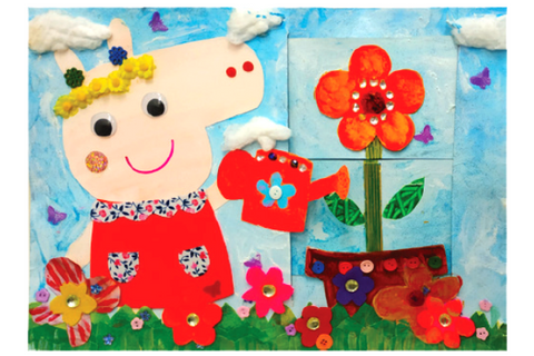 Kids' Gallery Easter Camp - Peppa's Blooming Bud 2 Days (3-6 years, Causeway Bay / Kowloon Tong) - Whizpa