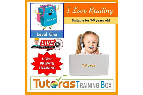 I Love Reading Storybox - Level One (3-5 years, Online) - Whizpa