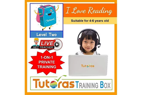 I Love Reading Storybox - Level Two (4-6 years, Online) - Whizpa