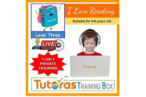 I Love Reading Storybox - Level Three (4-6 years, Online) - Whizpa